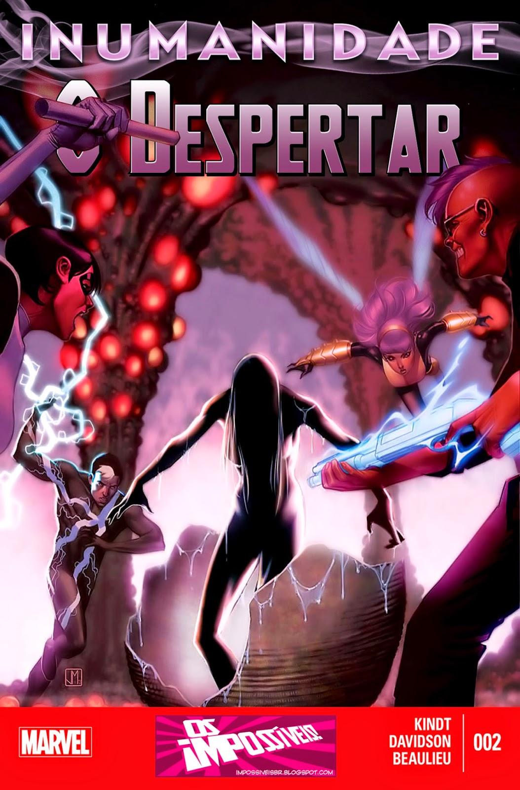 Nova Marvel! Inumanidade - O Despertar #2