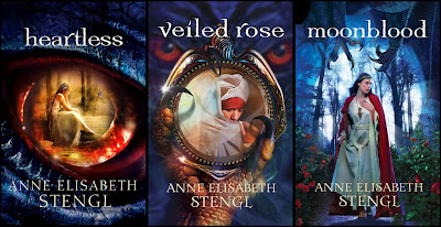 Tales of Goldstone Wood series: Heartless, Veiled Rose, Moonblood by Anne Elisabeth Stengl