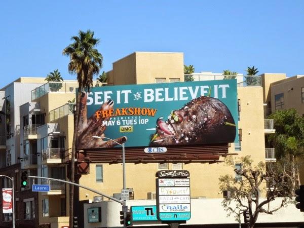 Freakshow season 2 Creature piercings billboard