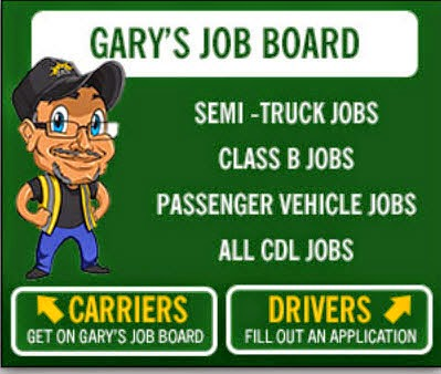 Gary Has CDL Drivers Jobs