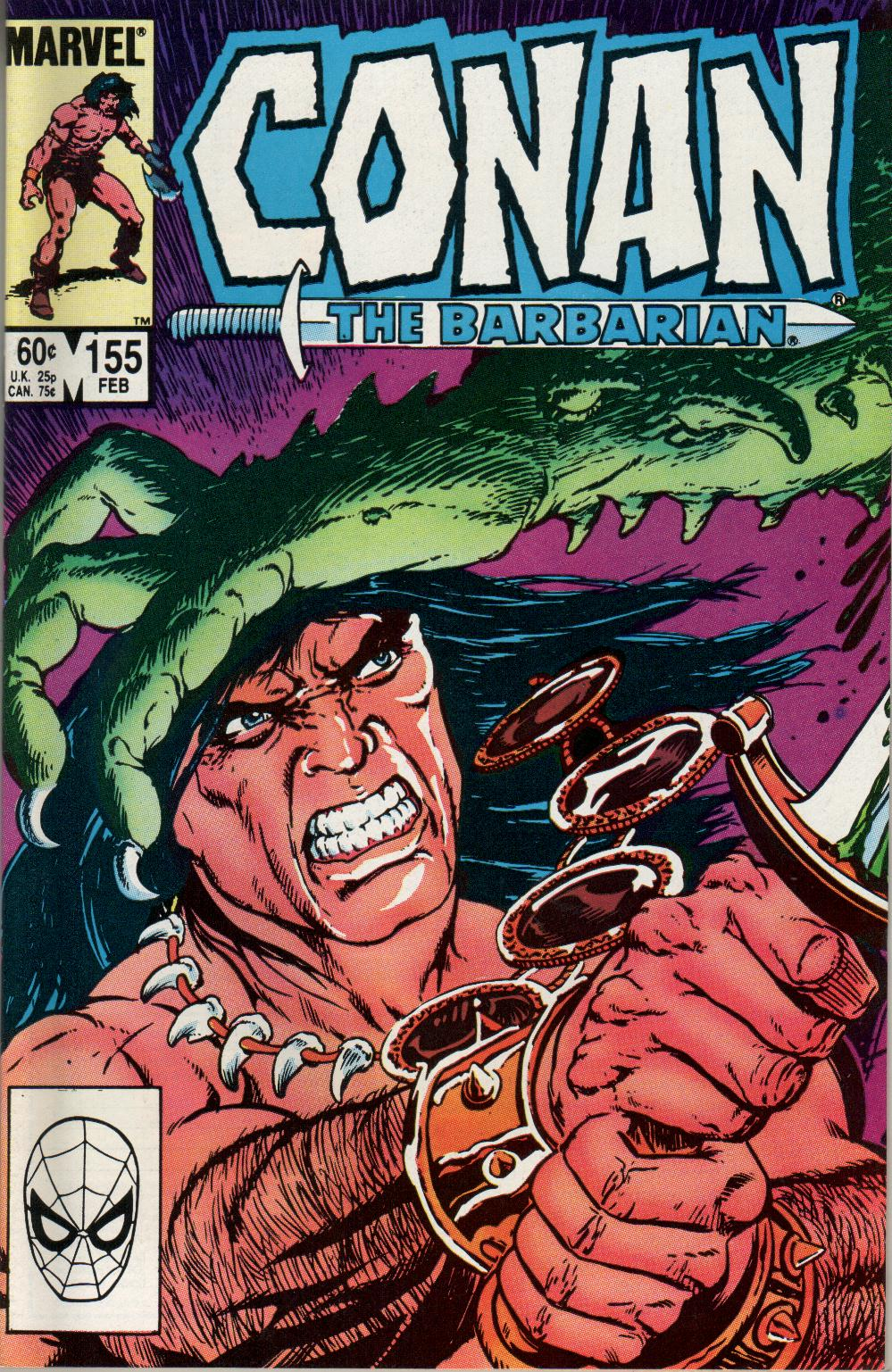 Conan the Barbarian (1970) Issue #155 #167 - English 1