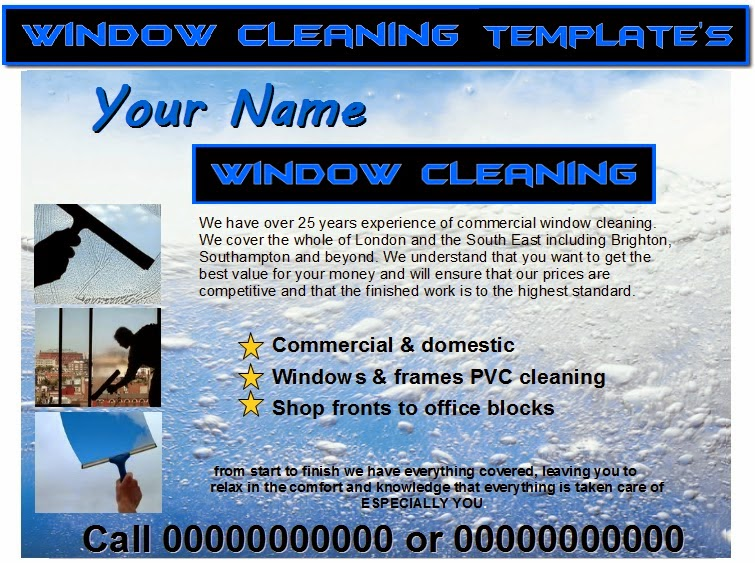 window cleaning leaflet template koni polycode co