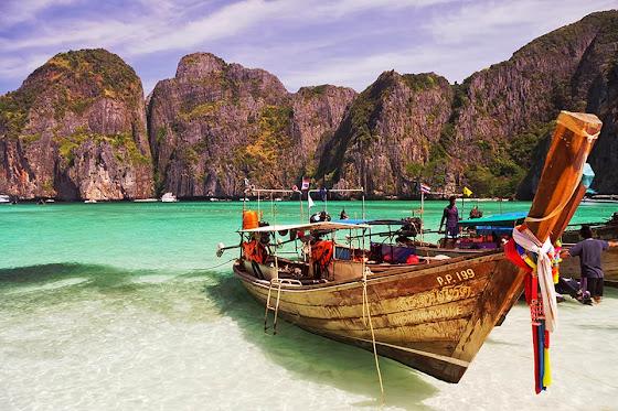 Maya Bay Strand auf Phi Phi Leh