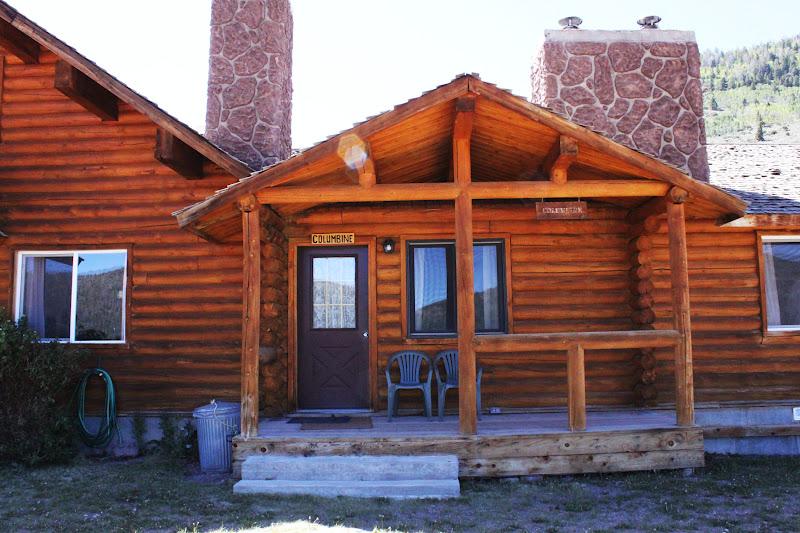 Rental cabins at fish lake utah columbine 5 person deluxe for Fishing cabin rentals