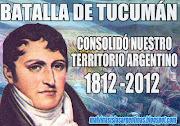 Bicentenario de una batalla decisiva, la Batalla de Tucumán argentina bandera belgrano tucumã¡n