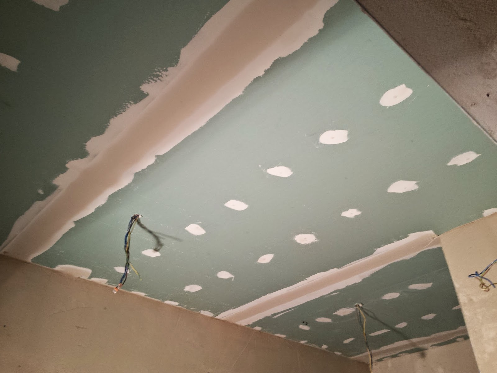 Awesome Groene Gipsplaten Plafond Badkamer Pictures - House Design ...
