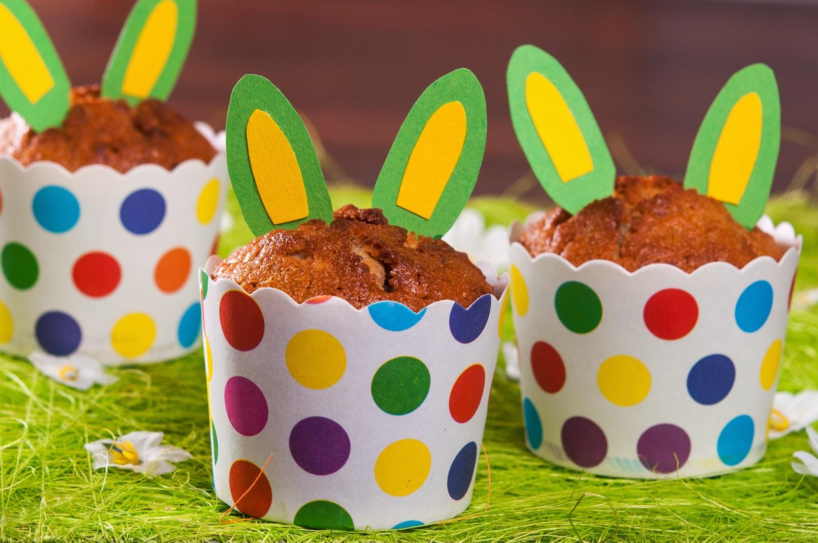 Великденски мъфини с моркови и орехи