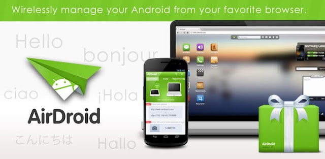 AirDroid para Android, Gestiona Android de forma Inalámbrica