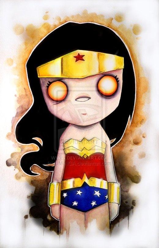 Wonder Woman por UMINGA