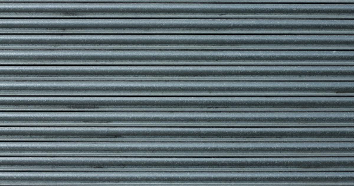 High Resolution Seamless Textures Metal Shutter Gate Texture
