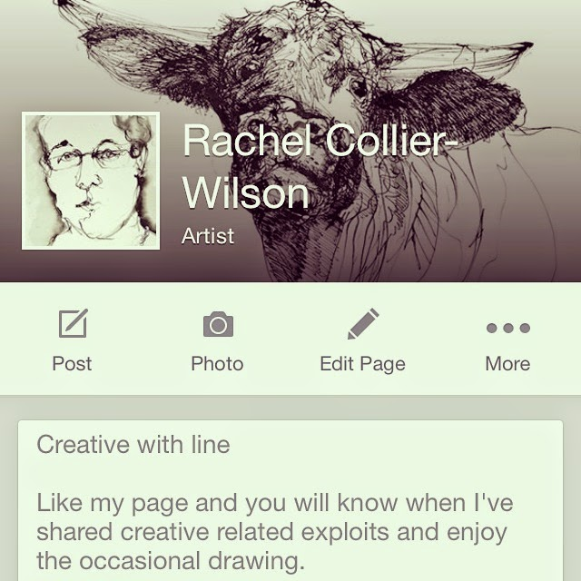 Go to Rachel's Artist Page on Facebook