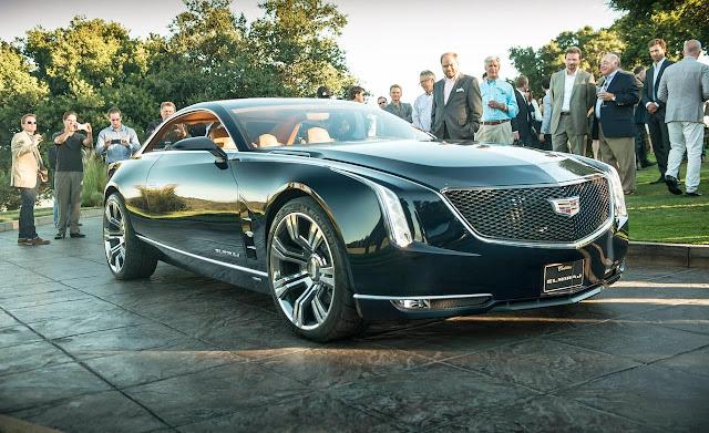 Cadillac Elmiraj concept en su presentación