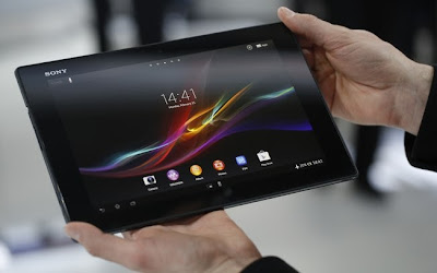 Sony lança tablet mais fino do mundo no Mobile World Congress em Barcelona na Alemanha