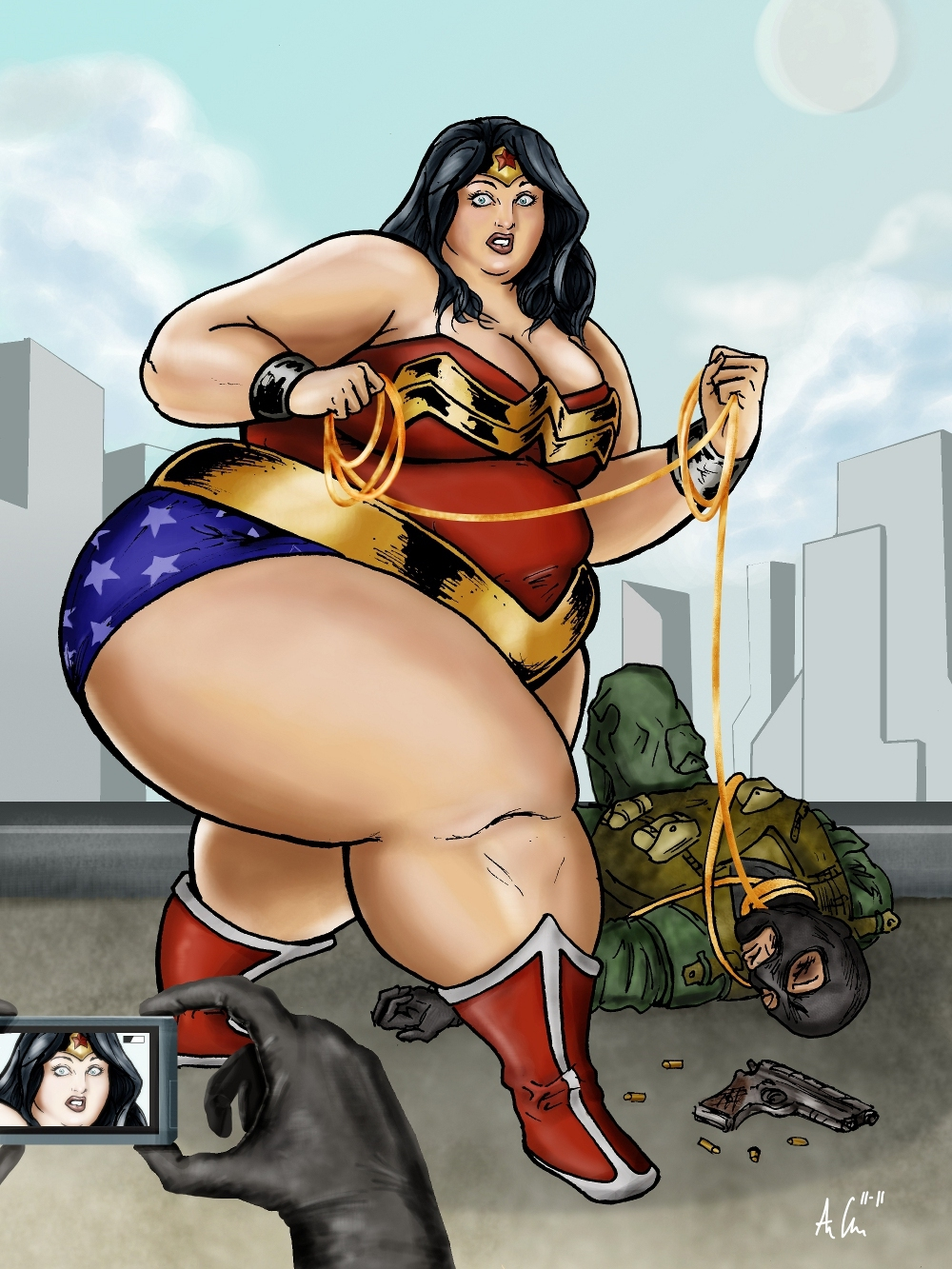 Fat Wonder Woman Blog 56