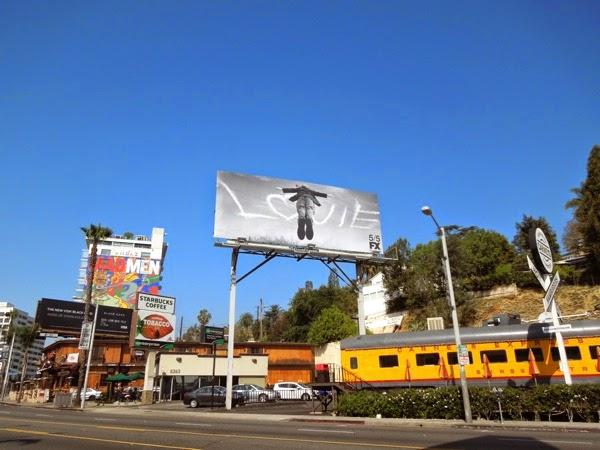 Louie season 4 billboard Sunset Strip