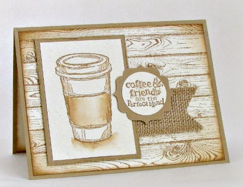 Subtle beauty! Easy water-colored card for a friend. #StampinUp #cardmaking #rubberstamping