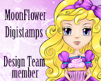Design Team Member for MoonFlower Digital Stamps