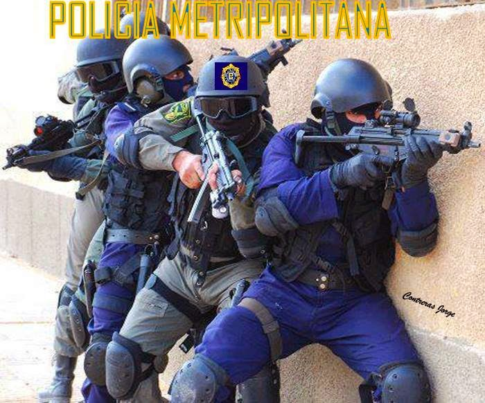 Venezuelan police: Don't mess with them.