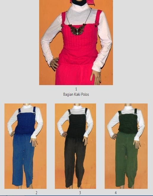 Overall Women Colour Jeans