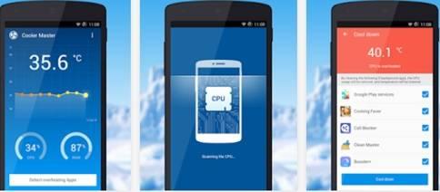 Pendingin Baterai Android