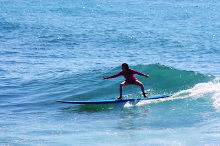 Surf lessons at Turtle Bay Resort