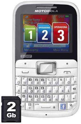 Motorola Motokey EX117 Triple GSM Phone
