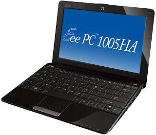 Netbook Asus EEE PC 1005HA Drivers - Windows 7