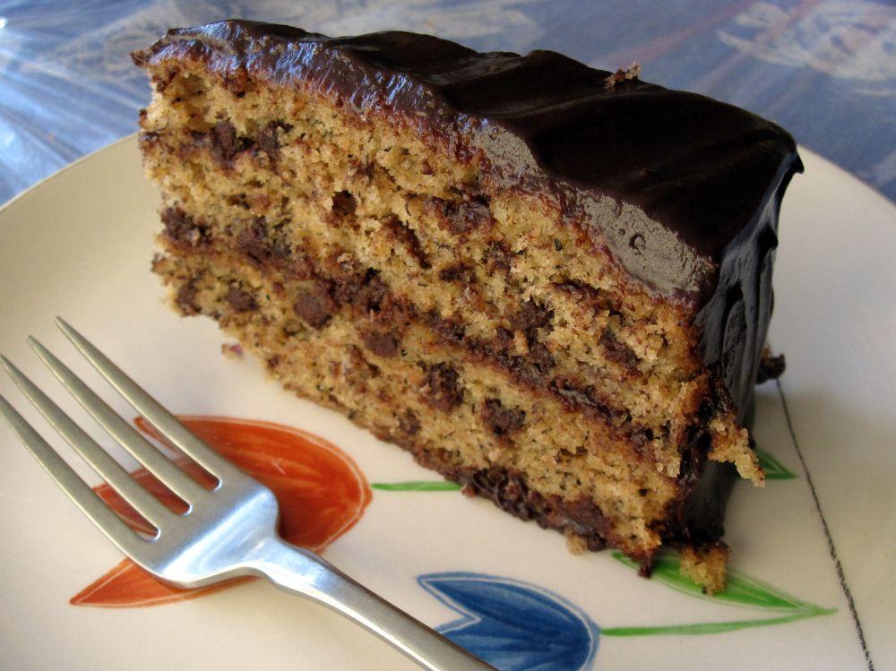 Recipe for banana choc chip cake