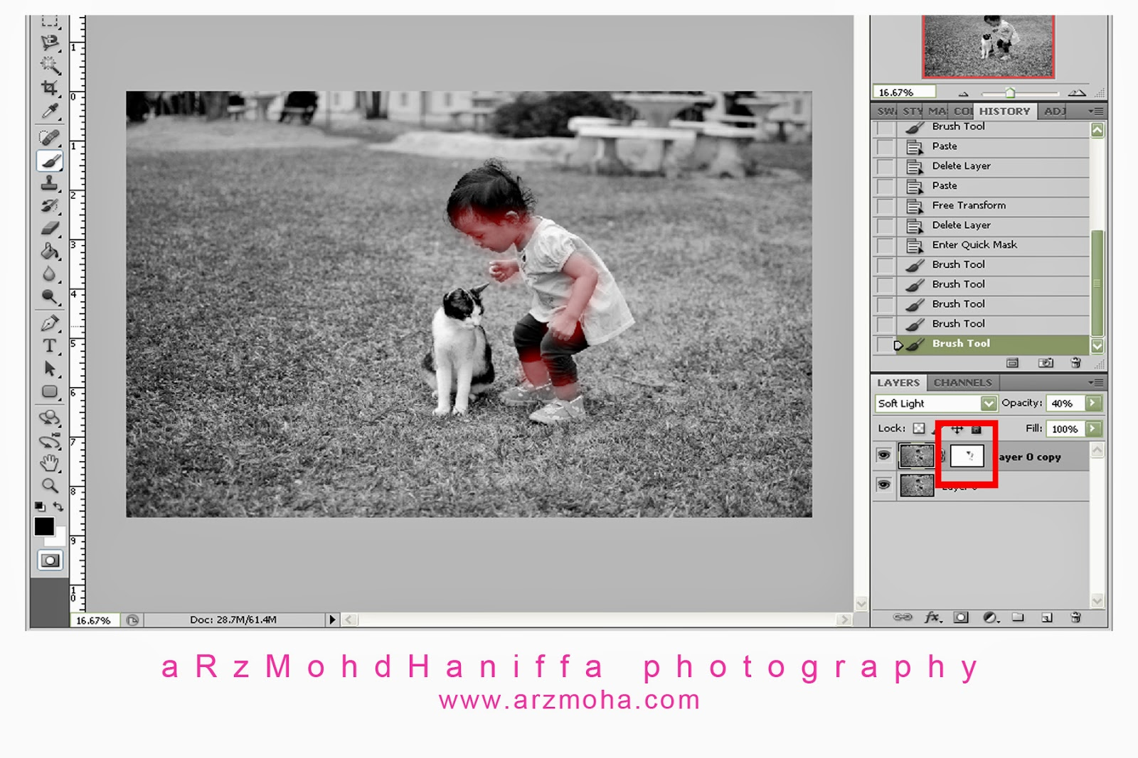 Gambar cantik, Black and White, B&W, arzmoha.com, Tips, Tutorial