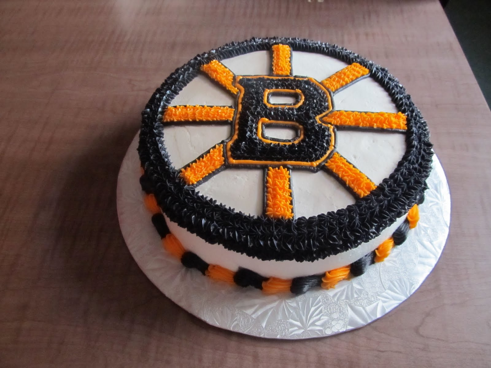 Cake Designs By Steph Boston Bruins Logo