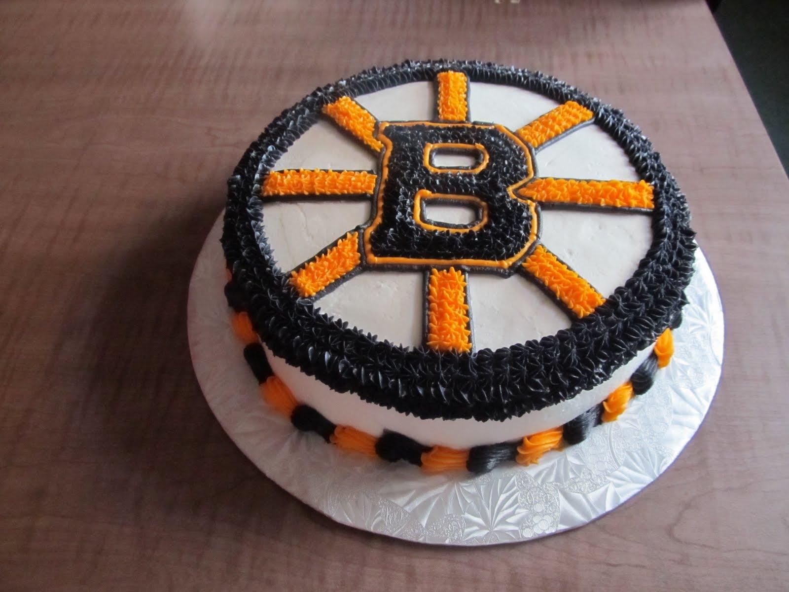 Cake Designs By Steph Boston Bruins Logo