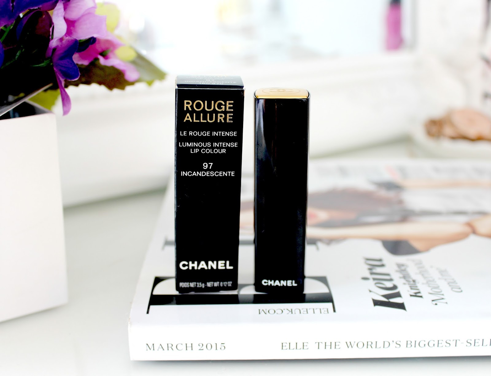 Chanel Incandescente Lipstick, Chanel Incandescente Lipstick Revew, Chanel Rouge Allure Lipstick Review