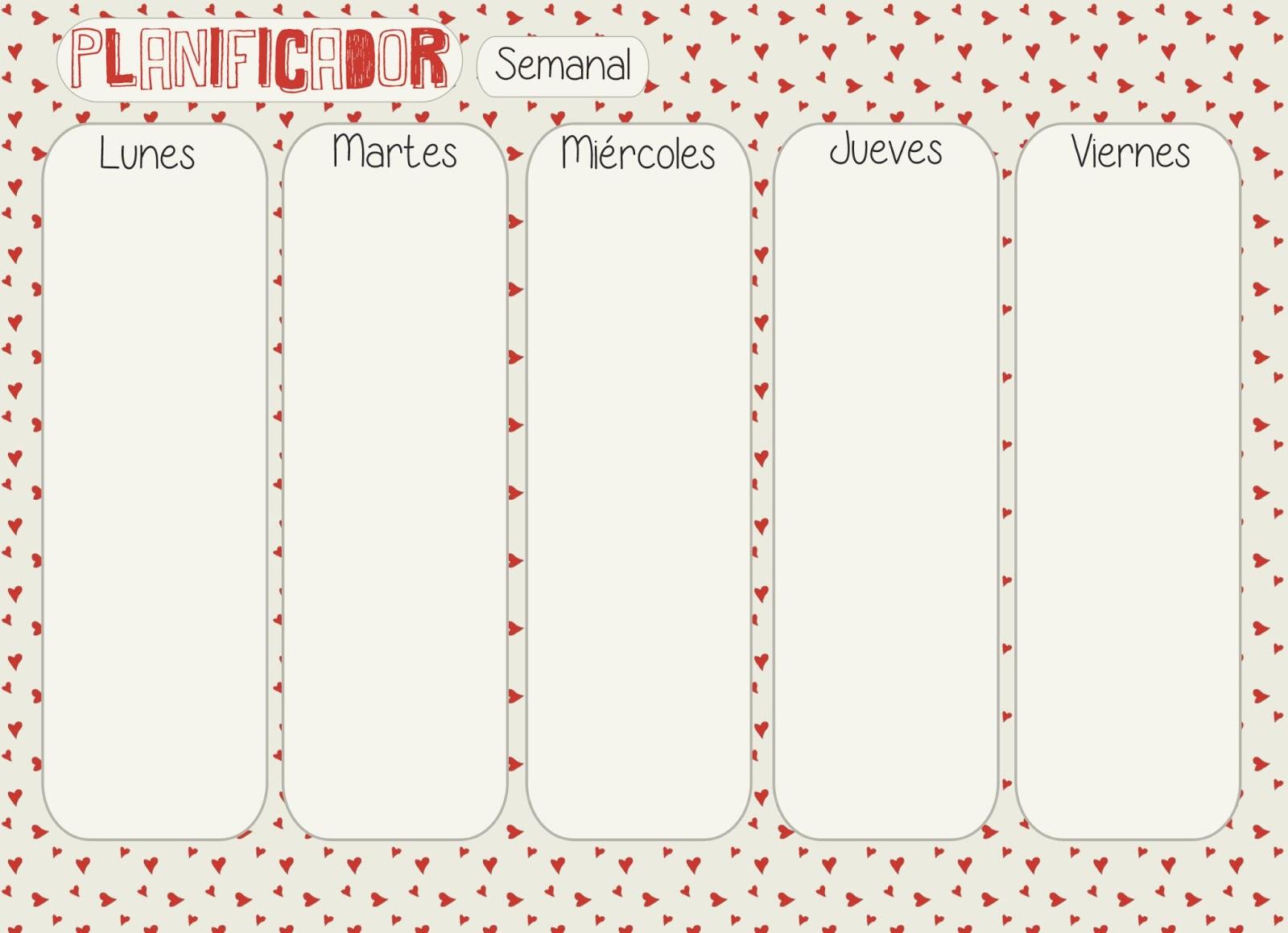 Calendario 2016 Y Planeador Semanal Para Imprimir | apexwallpapers.com