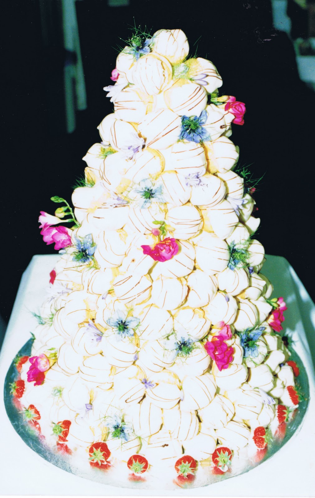 Marron and Dolce: French Wedding Cake - Croquembouche