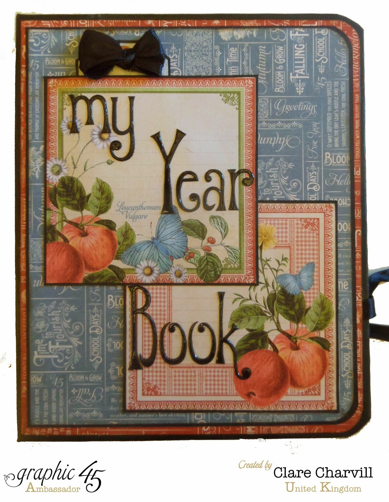Time to Flourish Year Book Clare Charvill Graphic 45