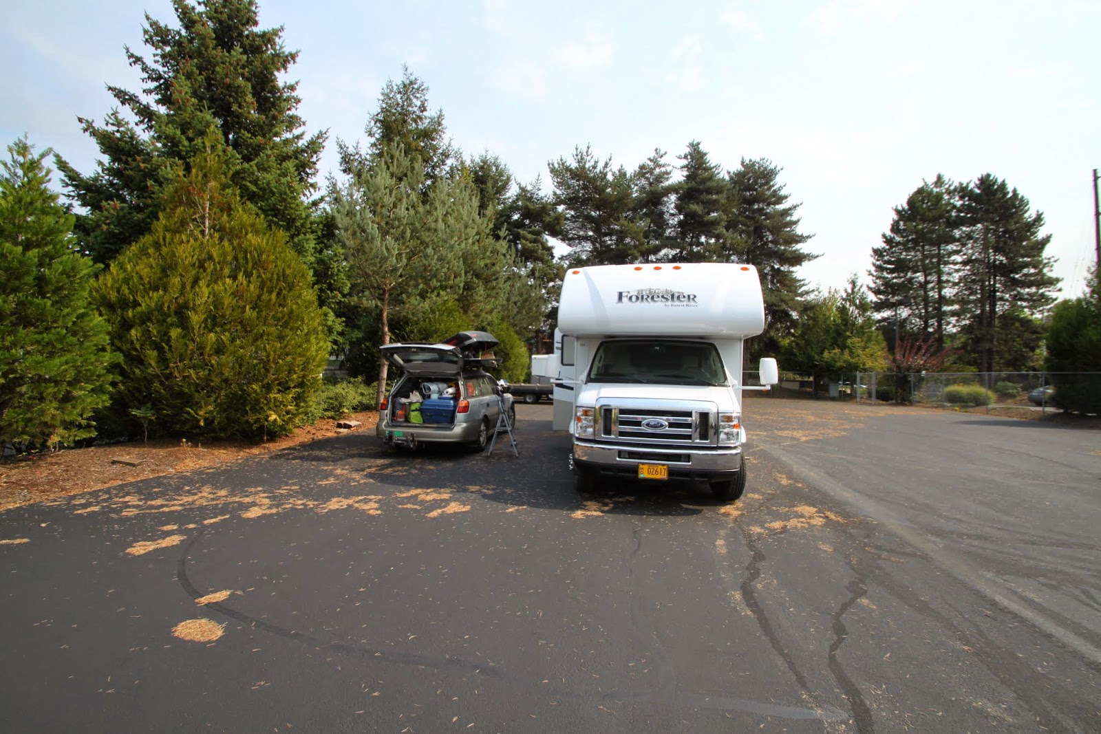 loading the RV