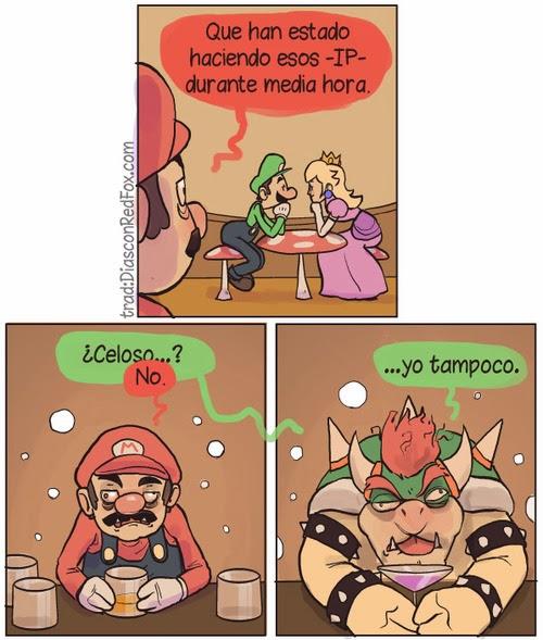 Los celos de Mario y Bowser - parte 1