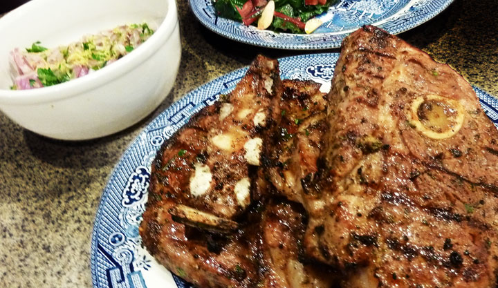 Fluffy chix cook grilled mediterranean lamb shoulder chops wont remove lamb chops from grill onto a clean plate and turn off grill publicscrutiny Image collections