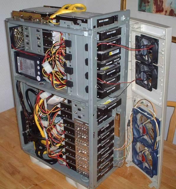 Сетевое хранилище из компьютера своими руками 955