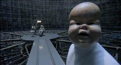Brazil 1985 baby face mask