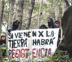 Red de apoyo a las Lof en resistencia Dpto. Cushamen