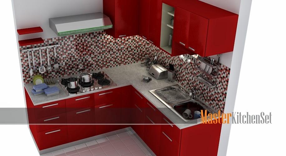 Kitchen set solo gallery blog master merah b