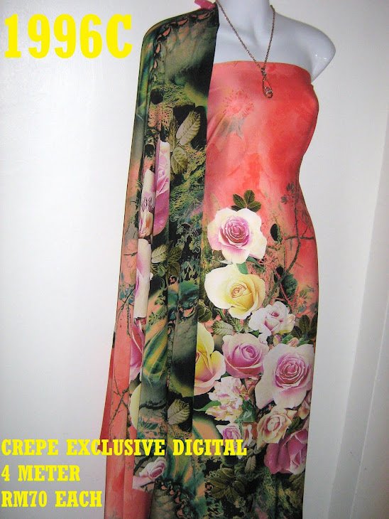 CP 1996C: CREPE EXCLUSIVE DIGITAL PRINTED, 4 METER