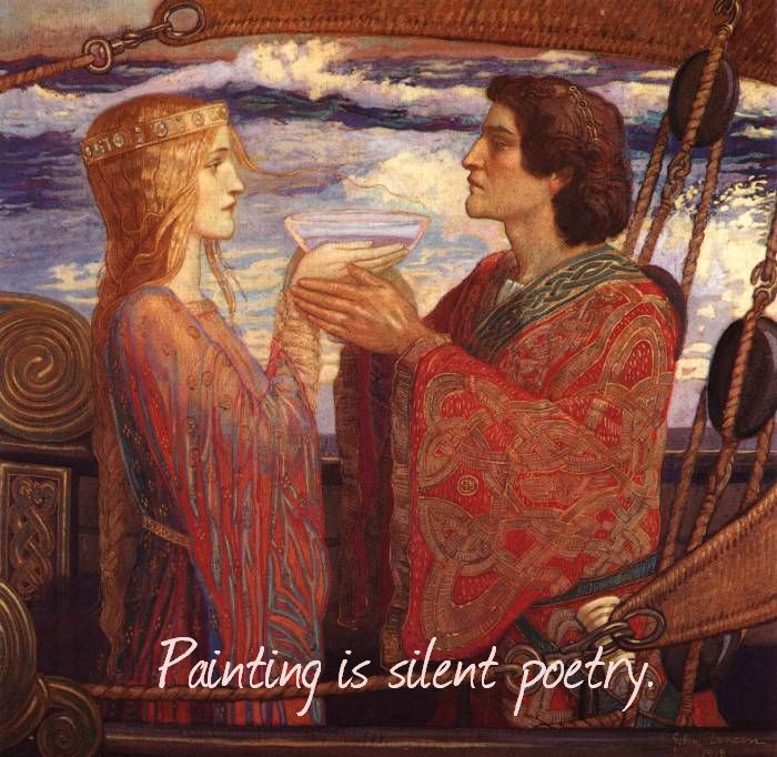 Painting is silent poetry.