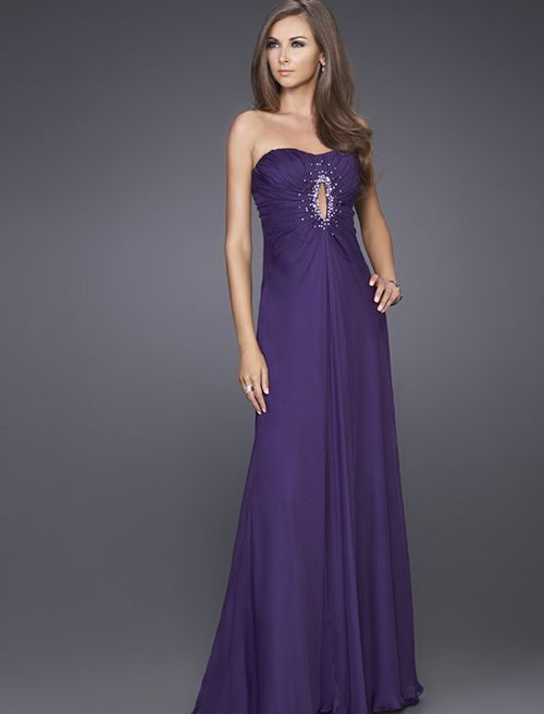 RainingBlossoms Evening Dresses: Choosing Glamorous Purple ...