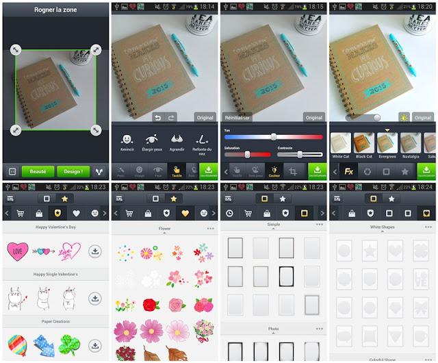 Android : mes applications photos préférées : Line Camera
