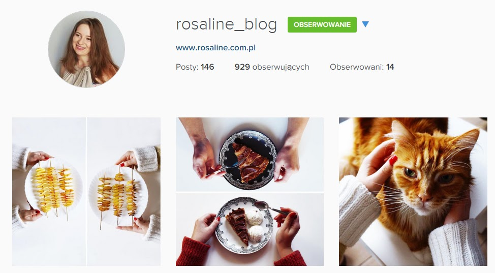 Rosaline_blog instagram