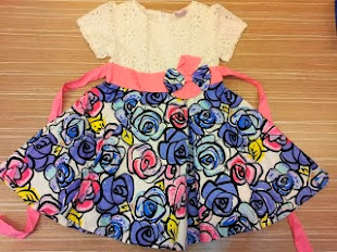 Smoothies Kids Dress ( Big size )