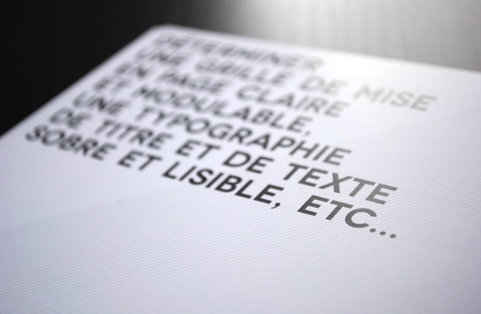 Extrêmement Typographisme: Rapport de Stage 2 EB25