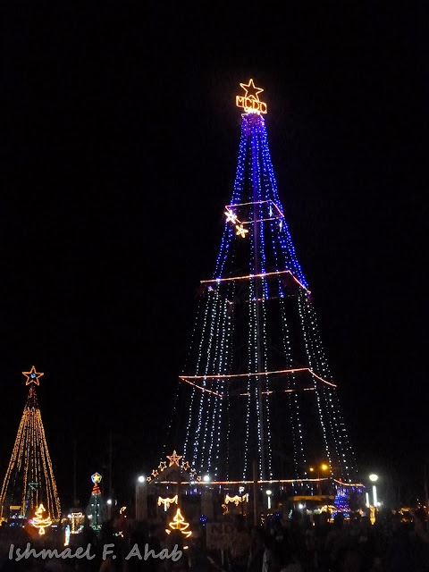 Giant Christmas trees in Kahayag Festival